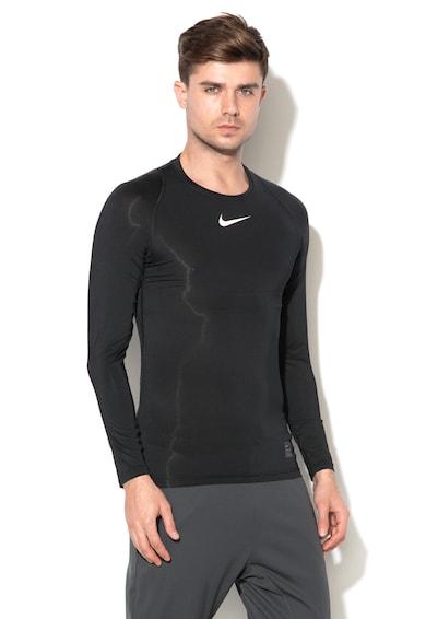 Nike Bluza sport cu insertii de plasa Barbati