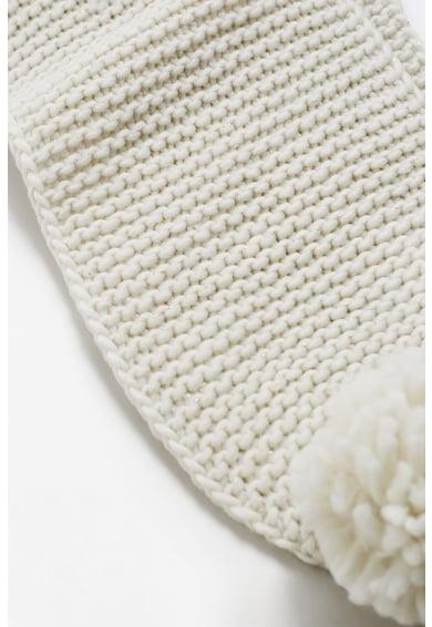 Mango Fular tricotat cu ciucure Fete