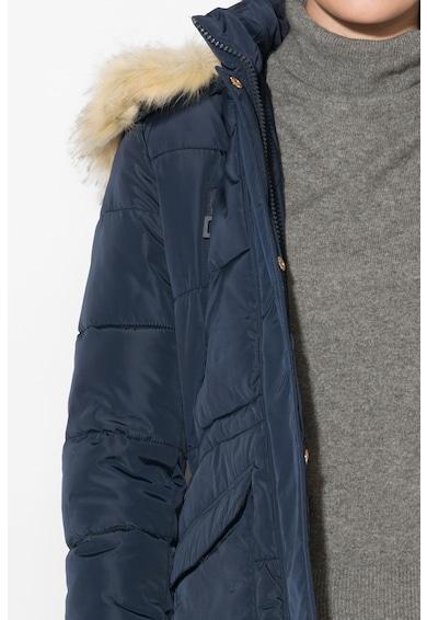 Zee Lane Denim Подплатено зимно яке с качулка Жени