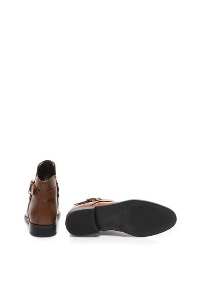 Trussardi Jeans Ghete de piele cu bareta decorativa cu catarama Femei