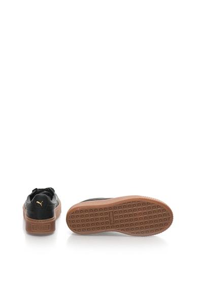 Puma Pantofi sport din piele cu platforma Femei