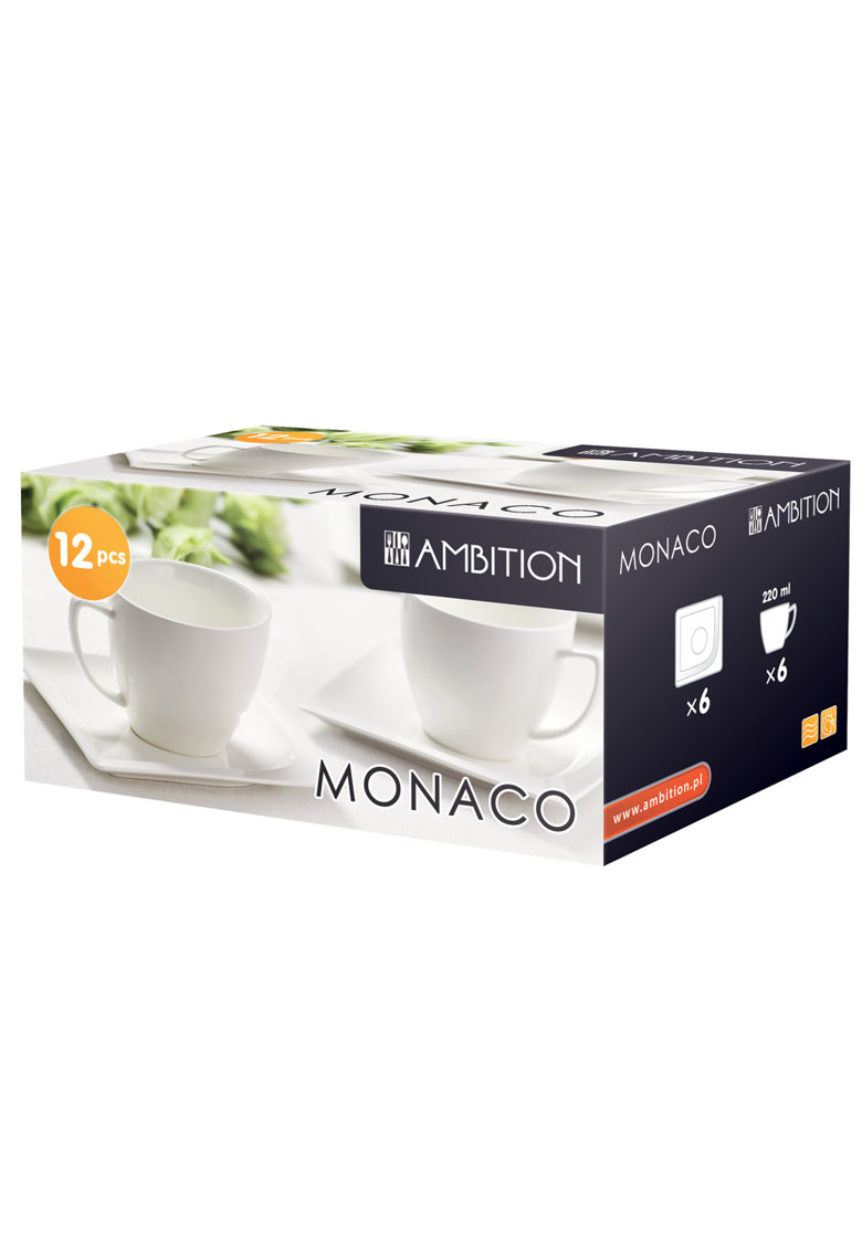 Serviciu de cafea Monaco - 12 piese imagine fashiondays.ro 2021