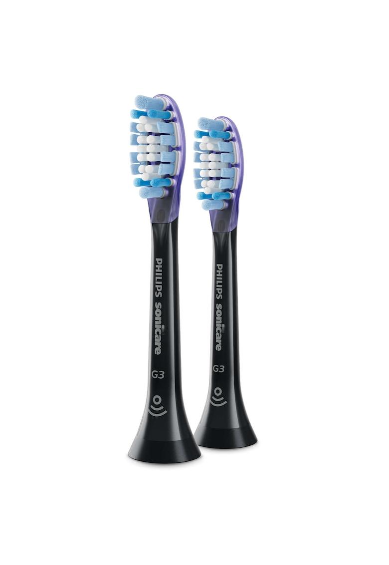 Philips Sonicare Rezerve periuta de dinti electrica  G3 Premium Gum Care HX9052/33 - 2 buc - standard - Negru