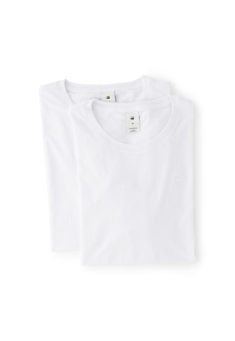 Set de 2 tricouri cu decolteu rotund