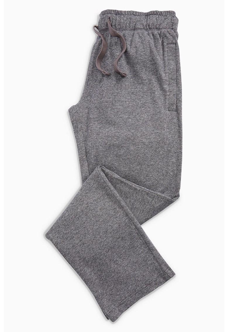 Pantaloni de pijama cu talie elastica