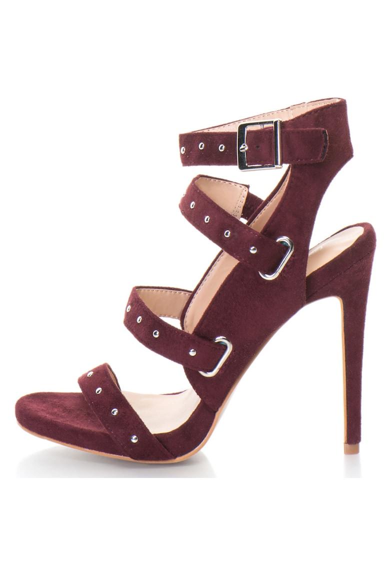 Release Sandale elegante cu barete si catarama –  Piele sintetica