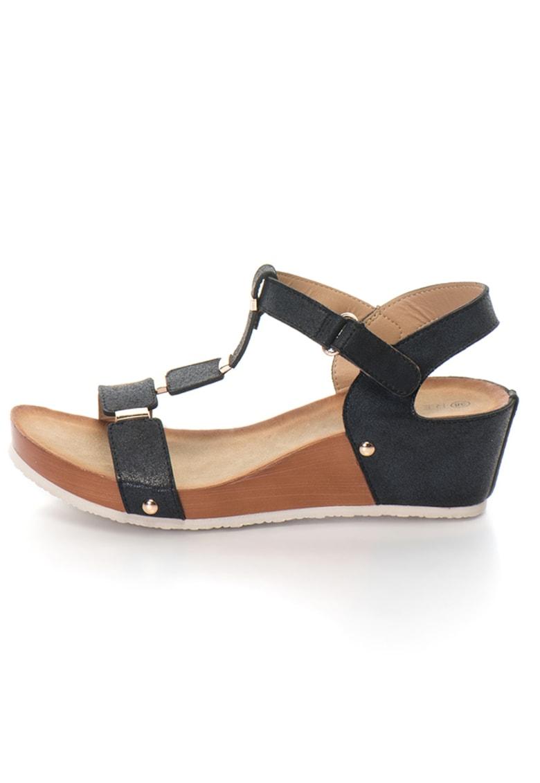 Release Sandale cu accesorii metalice –  Piele sintetica