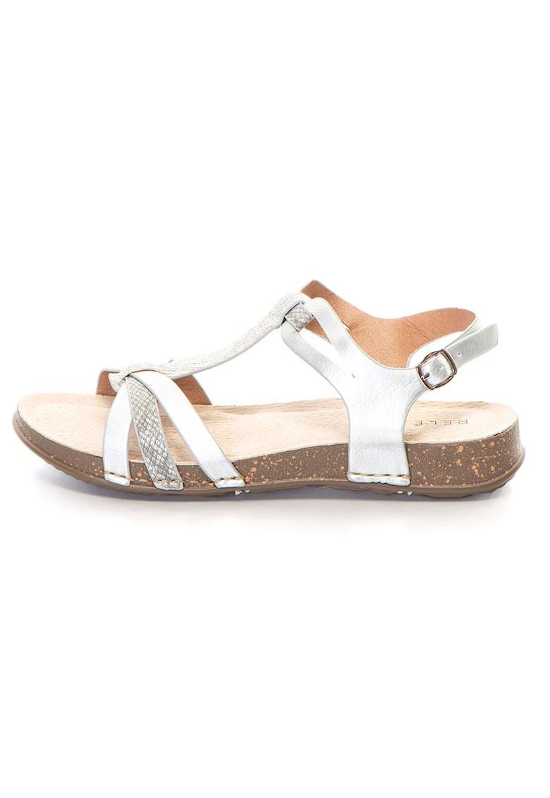 Release Sandale joase comode cu imitatie din piele de sarpe –  Piele sintetica si interior de piele naturala
