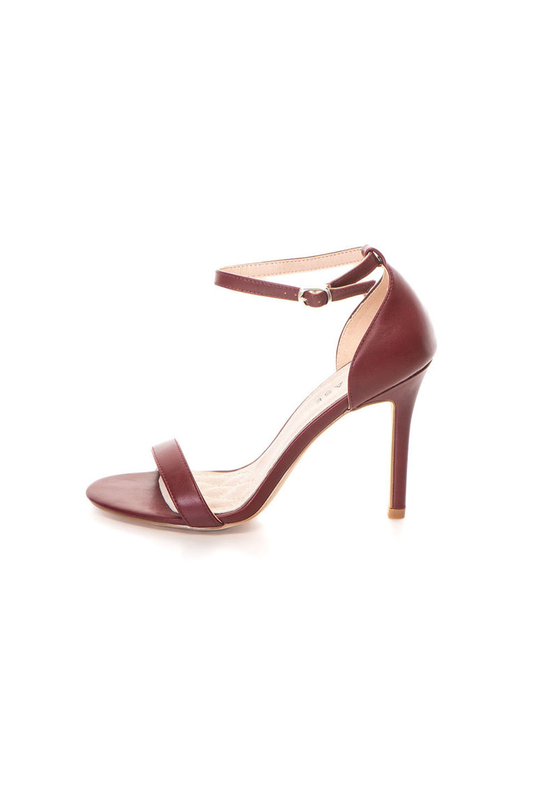 Release Sandale elegante cu bareta pe glezna –  Piele sintetica si interior de piele naturala