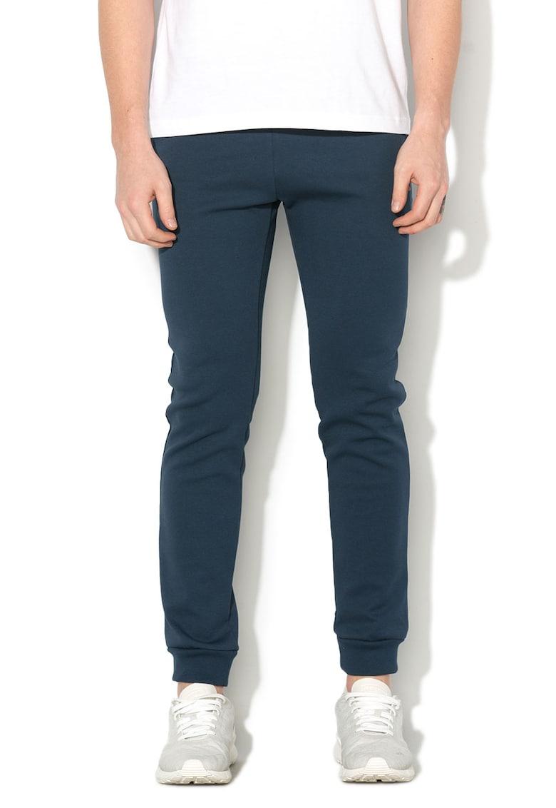 Pantaloni sport slim fit cu imprimeu logo thumbnail