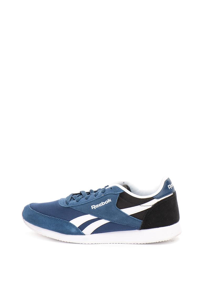 Pantofi de piele intoarsa si material textil – pentru alergare Royal CL Jogger 2 de la Reebok Classics