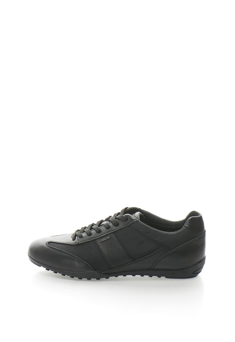 Pantofi sport respirabili cu garnituri de piele Wells