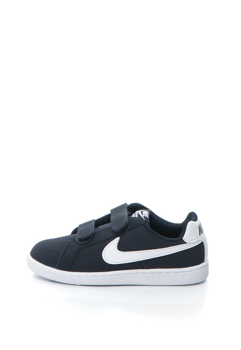 Pantofi sport de piele lacuita Court Royale