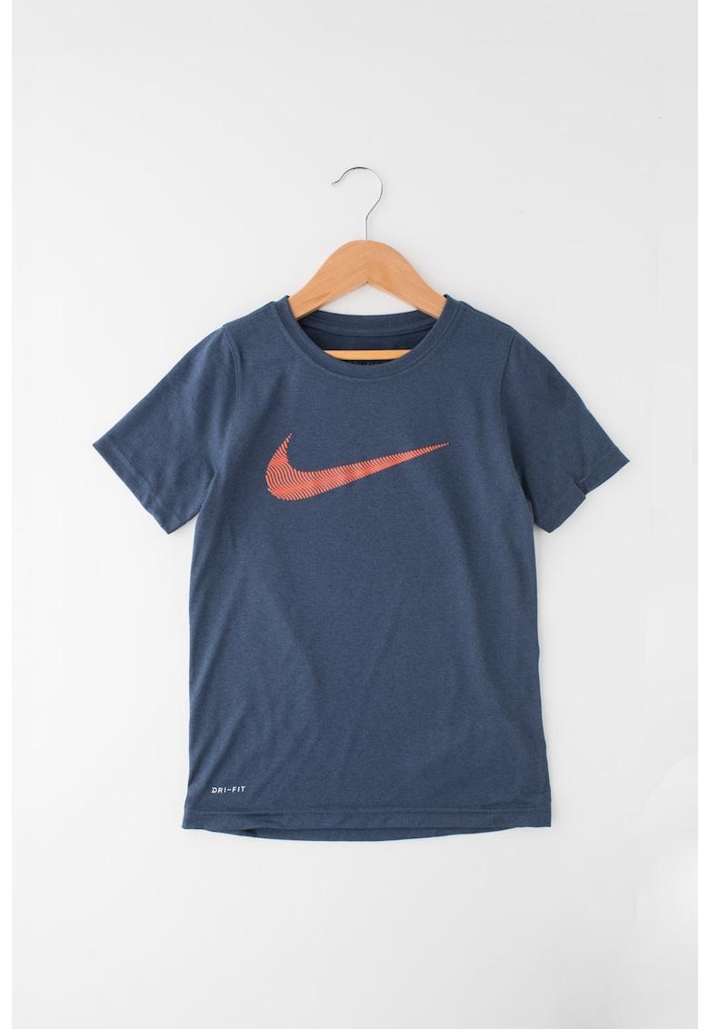 Tricou pentru fitness - cu imprimeu logo
