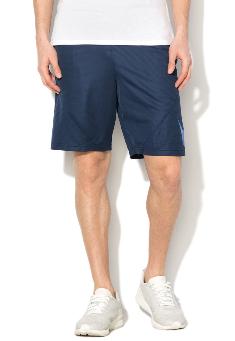 Pantaloni scurti cu buzunare in cusaturile laterale pentru baschet de la Nike