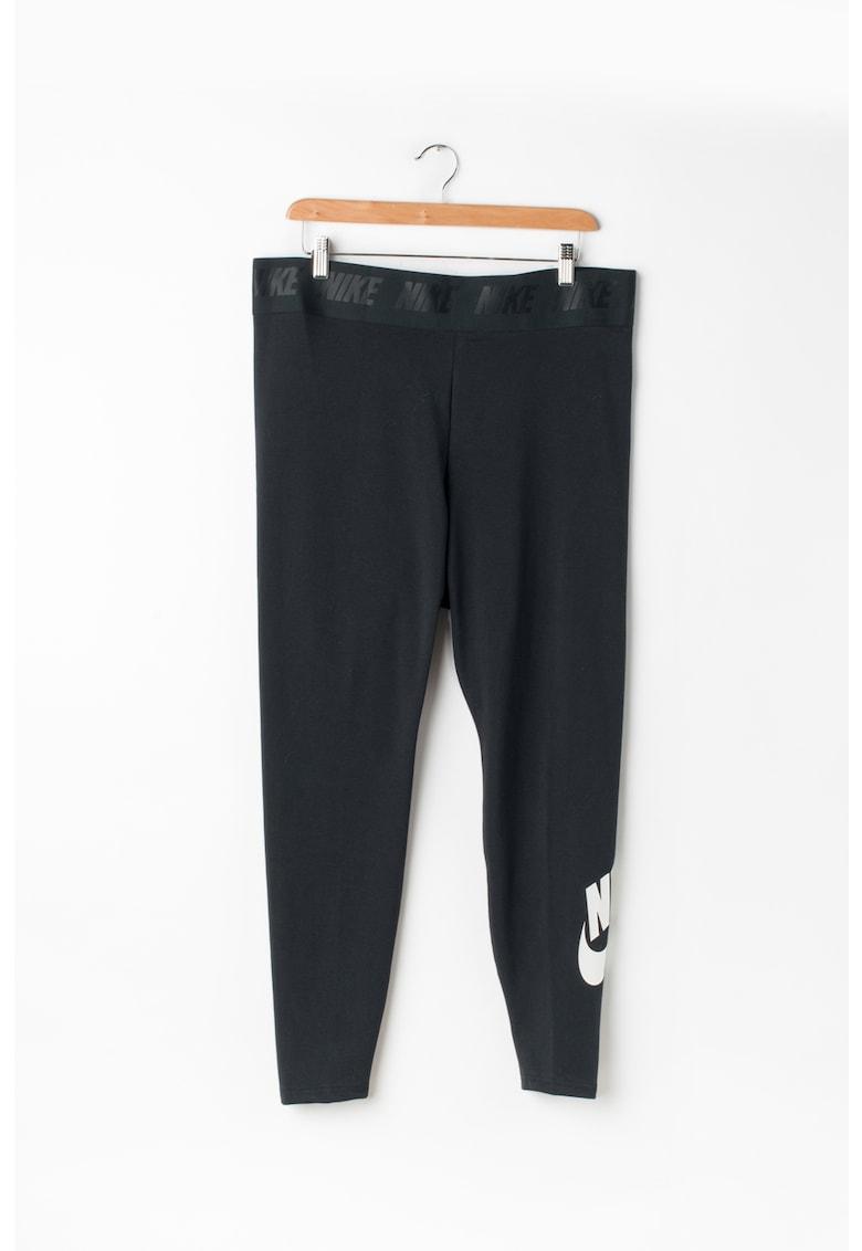 Nike Colanti crop cu talie elastica