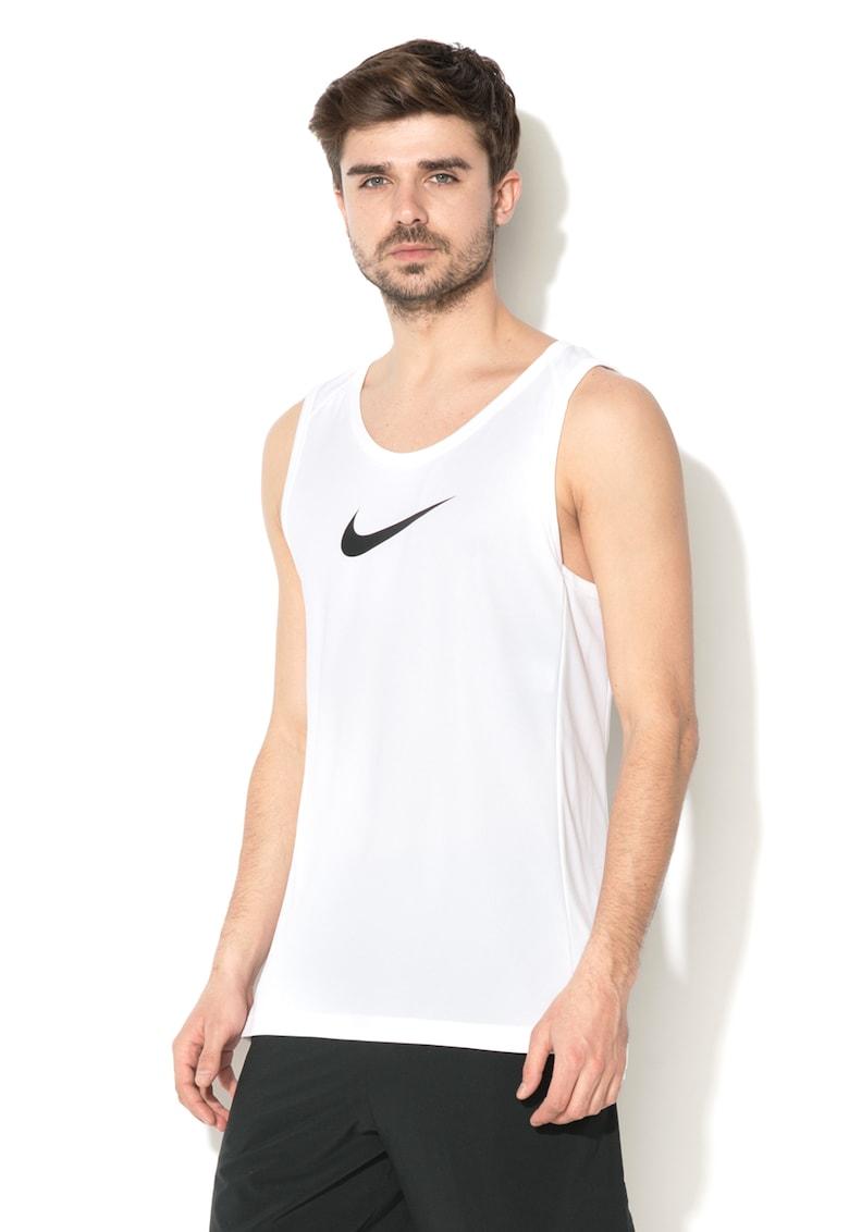 Top cu imprimeu logo – pentru baschet Dri-Fit de la Nike