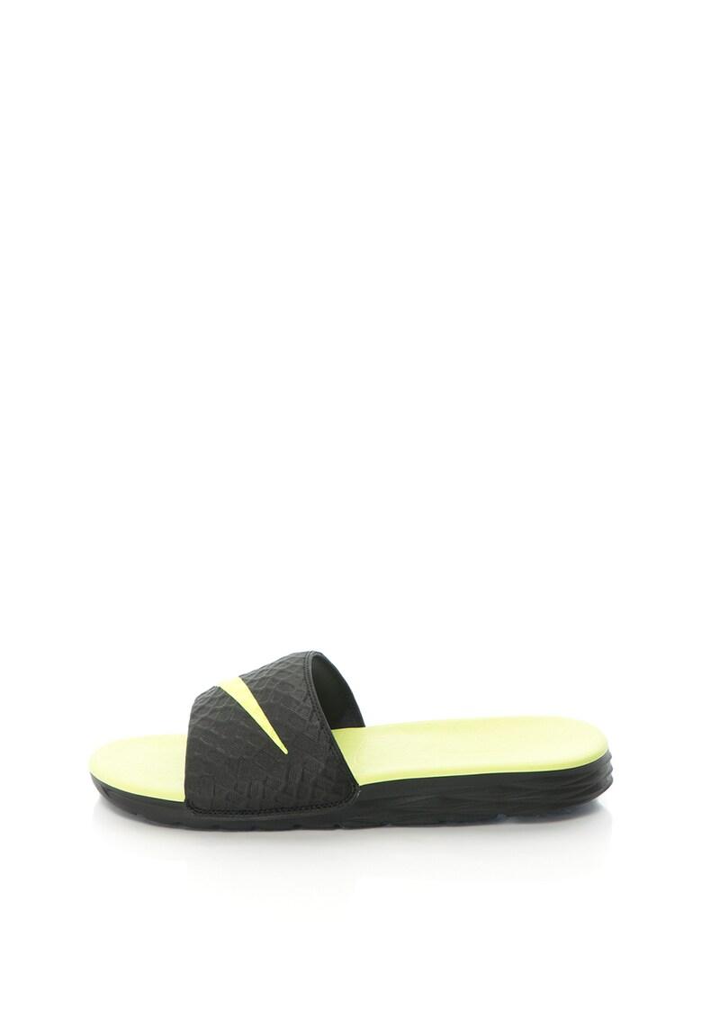 Papuci cu logo Benassi Solarsoft
