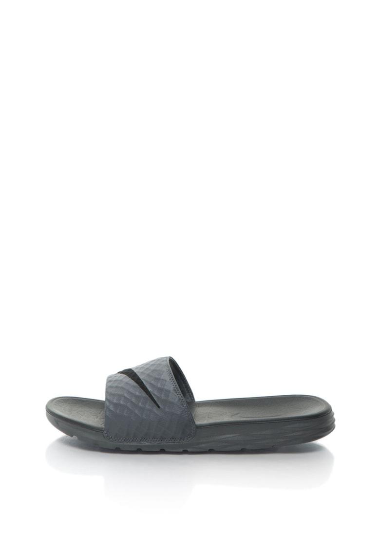 Papuci cu logo Benassi Solarsoft Nike