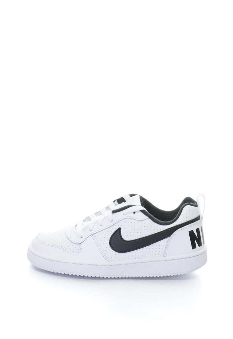 Nike Pantofi sport cu garnituri de piele Court Borough