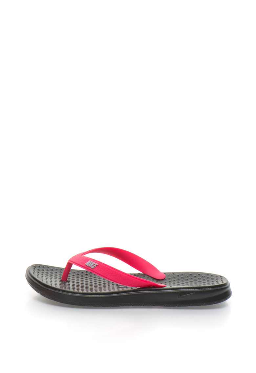 Nike Papuci flip-flop cu logo stantat