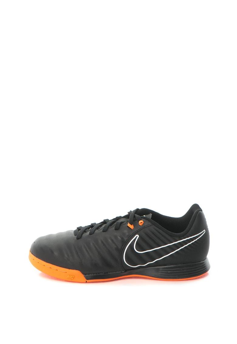 Pantofi sport cu insertii de piele Jr Legendx 7 Academy