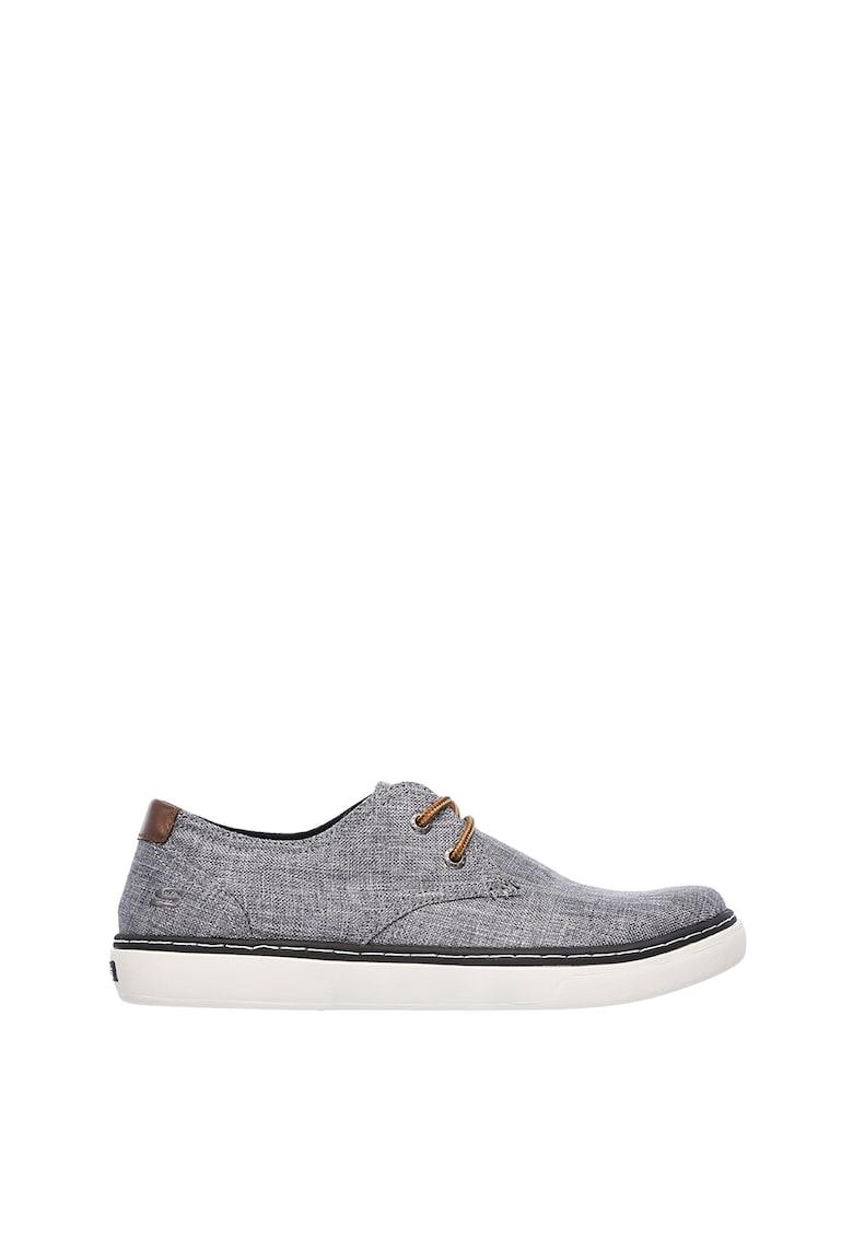 Pantofi casual cu logo brodat pe partea laterala Palen-Gadon de la Skechers