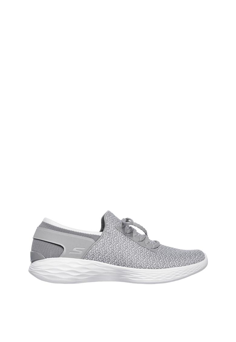Skechers Pantofi sport cu design slip-on You Inspire