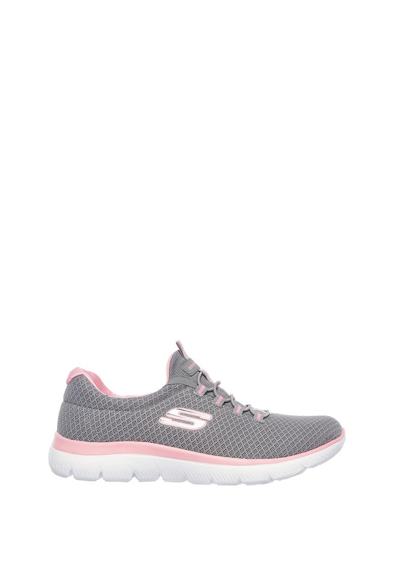 Pantofi sport de plasa Summits imagine