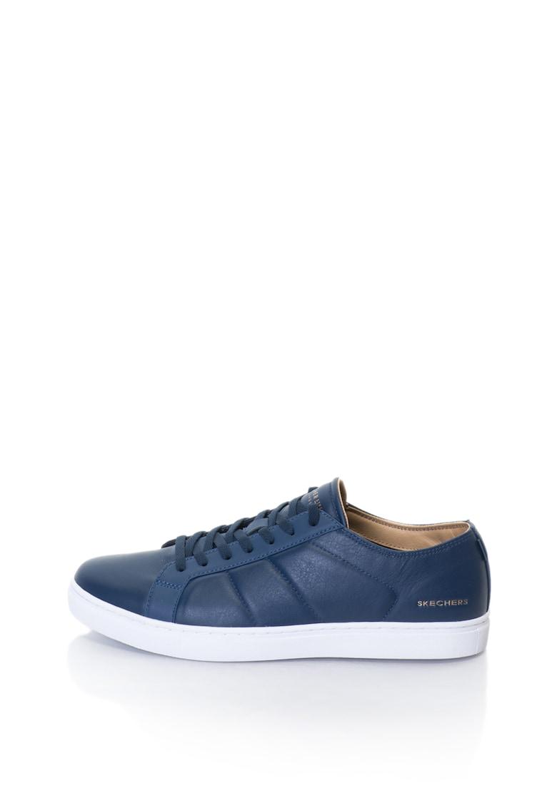 Skechers Pantofi sport cu garnituri de piele Venice