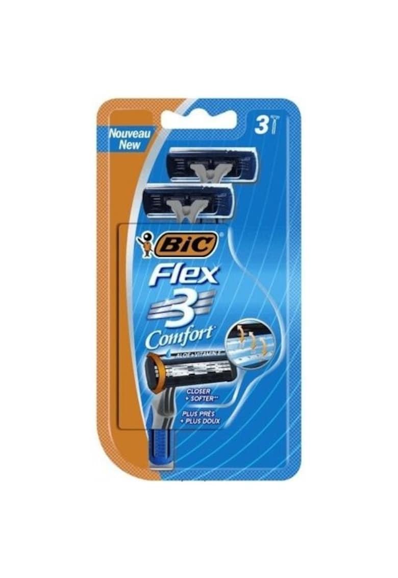 Aparat de Ras pentru barbati Flex 3 Classic - 3 lame - pachet standard - 3 bucati