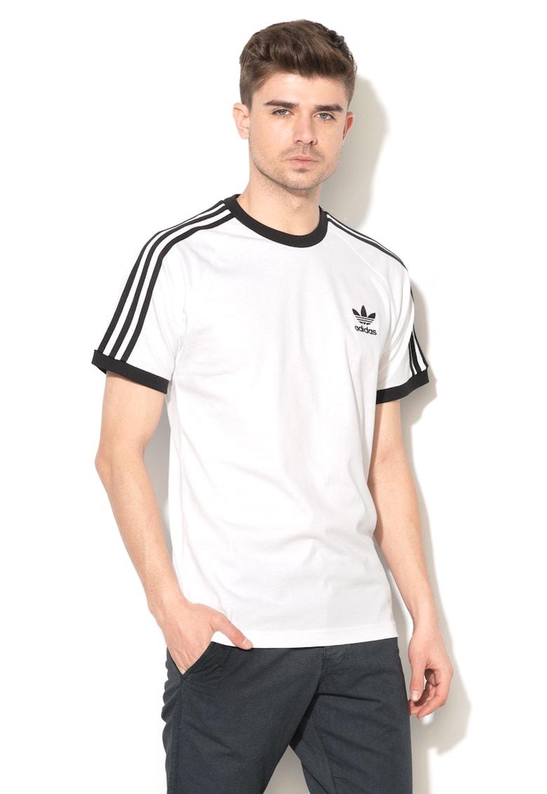 Adidas ORIGINALS Tricou cu decolteu rotund si broderie logo