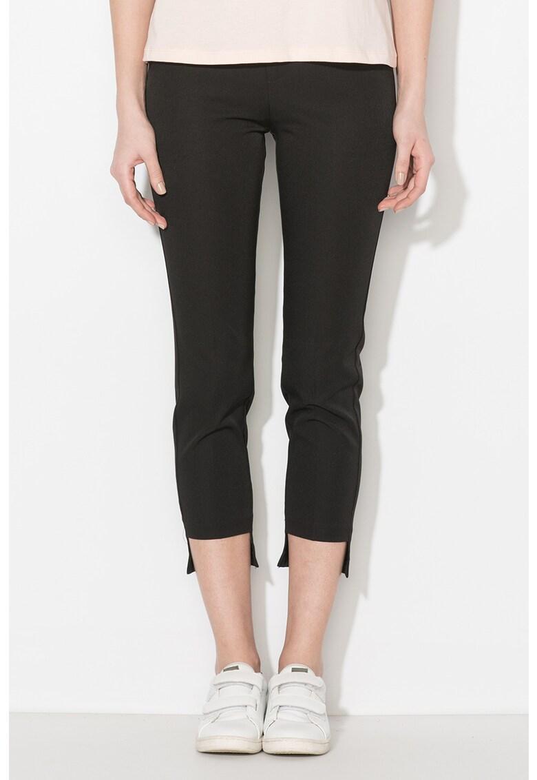 Zee Lane Denim Pantaloni eleganti cu terminatie asimetrica