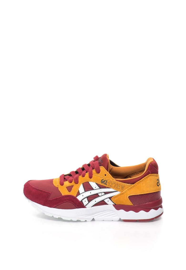 Pantofi sport cu insertii de piele intoarsa Gel-Lyte V