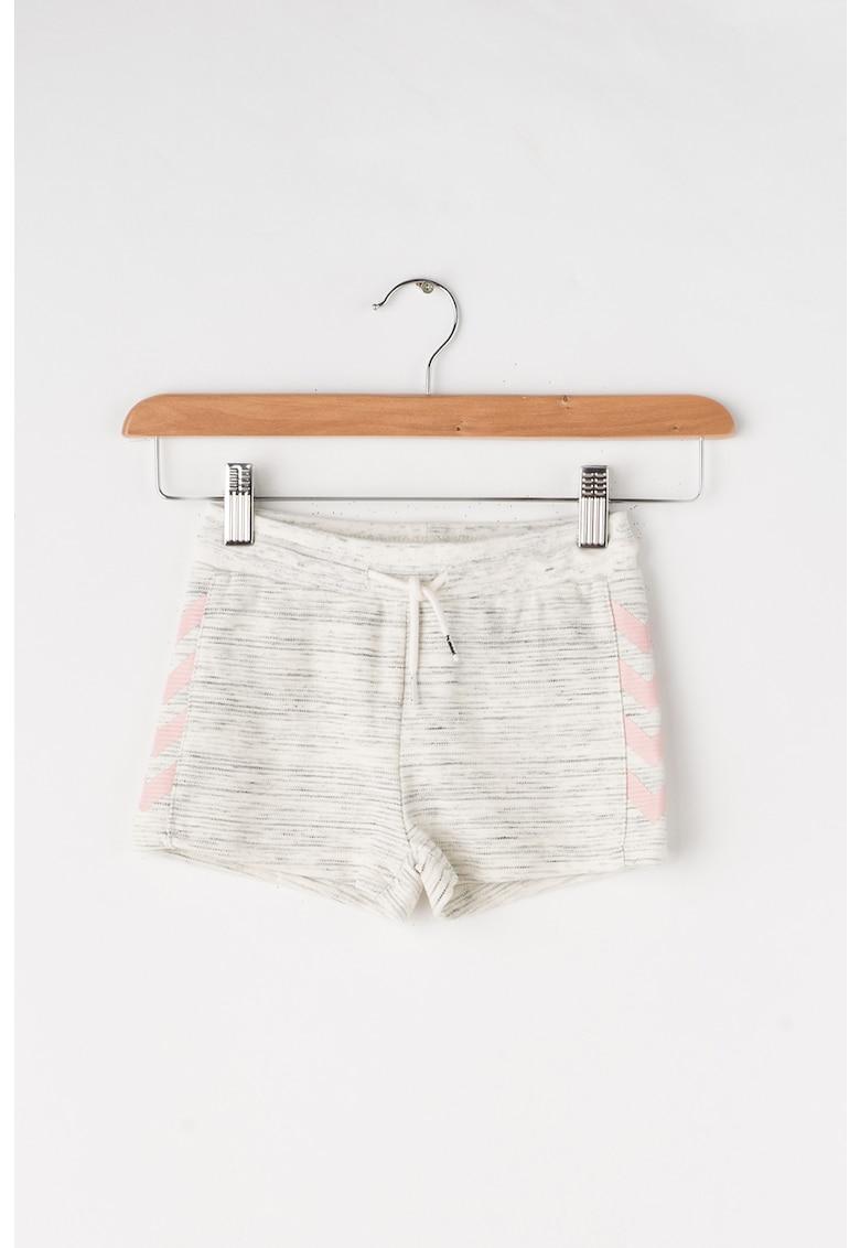 Pantaloni scurti cu banda elastica in talie