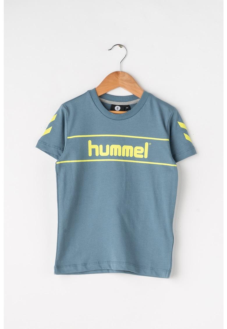 Tricou cu imprimeu logo Jaki de la Hummel