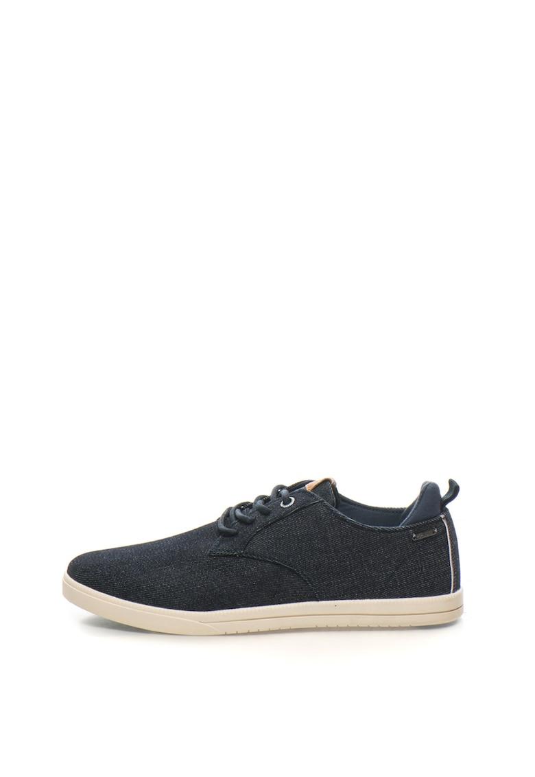 Pepe Jeans London Pantofi sport din denim cu aplicatie logo Bolton
