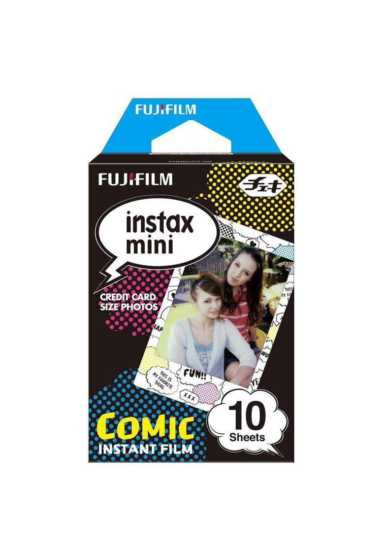 Film instant Fujiflm Mini Comic - 10 buc imagine