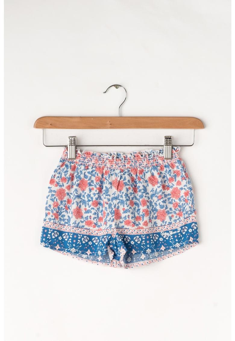 Pantaloni scurti cu model floral Pamela