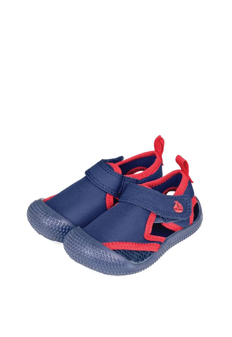 Pantofi de plaja din panza cu inchidere velcro imagine