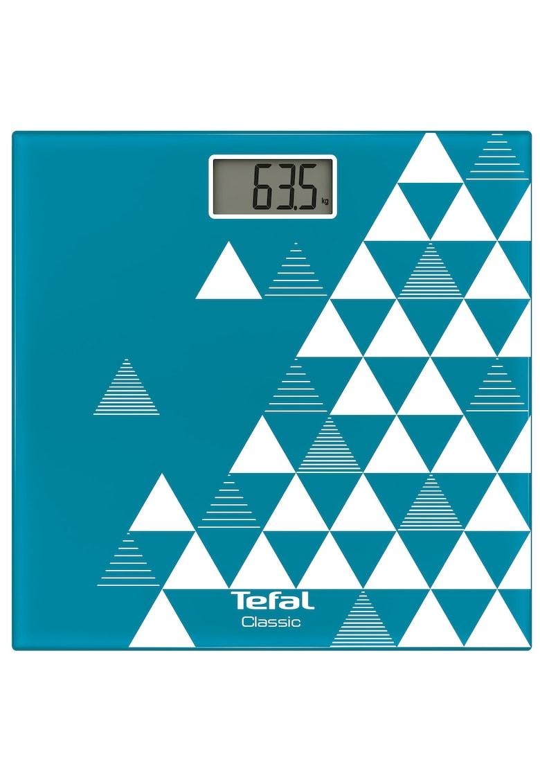 Cantar corporal  Décor  – 160kg – 100g – Lcd – 30x30cm – Albastru/Abstract de la Tefal