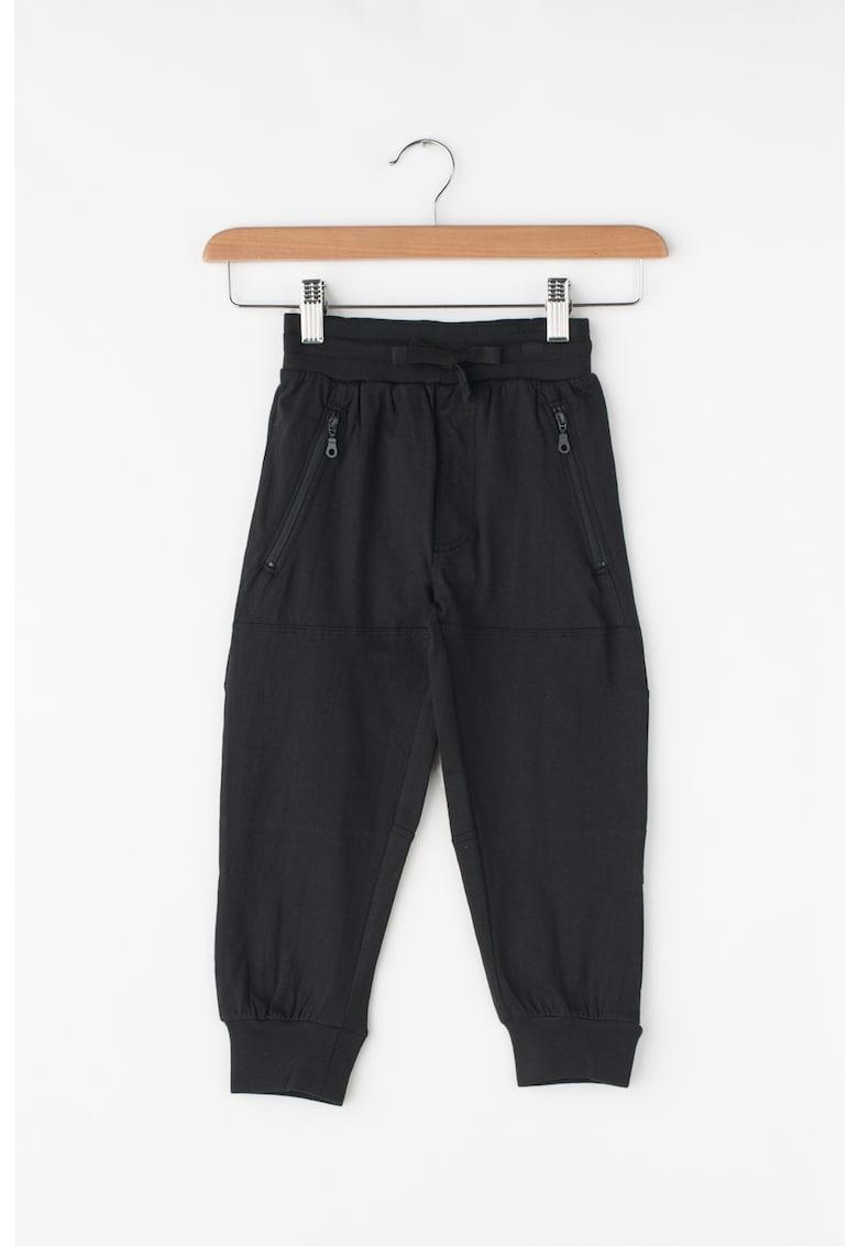 Pantaloni jogger cu snur pentru ajustare de la Zee Lane Kids