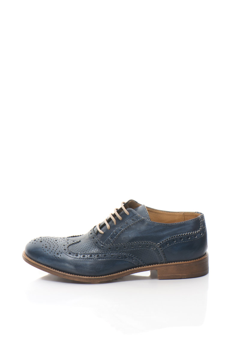 Zee Lane Pantofi brogue din piele