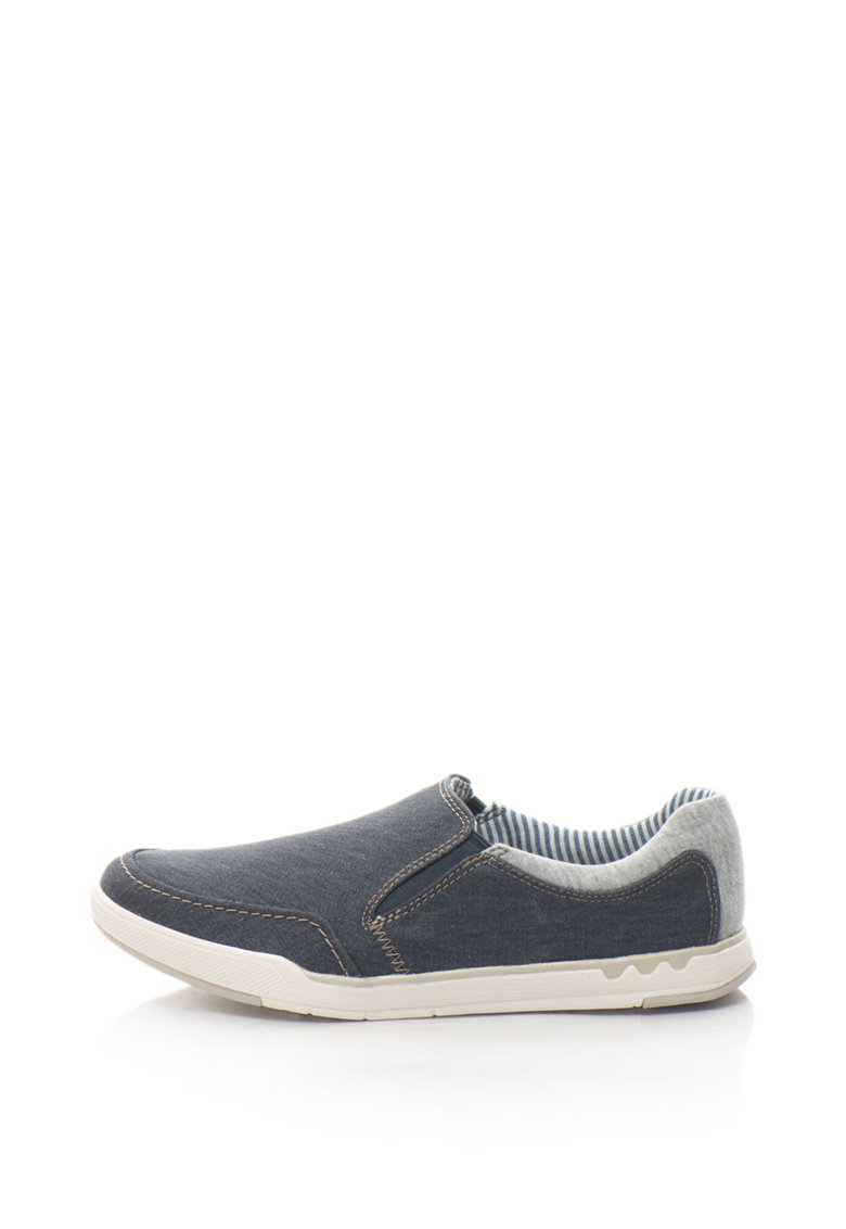 Pantofi slip-on casual din denim Step