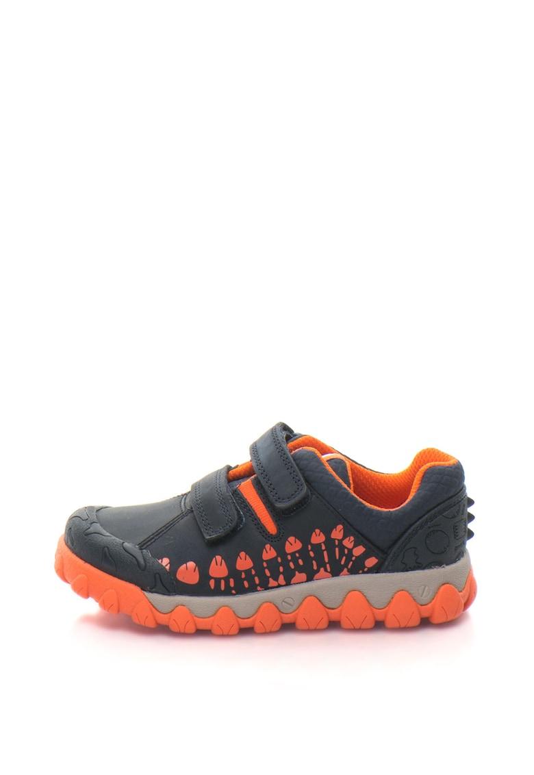 Pantofi din piele sintetica cu velcro Tyrex Walk imagine promotie