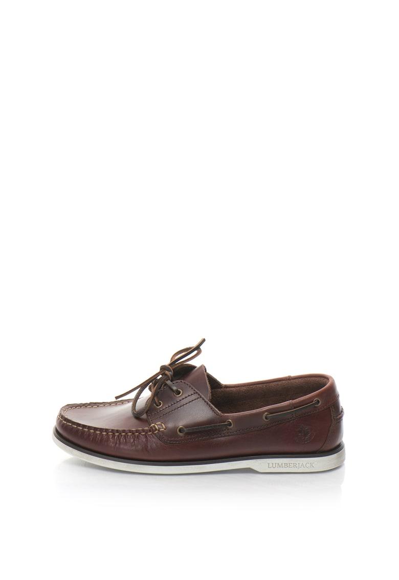 Pantofi loafer de piele Navigator