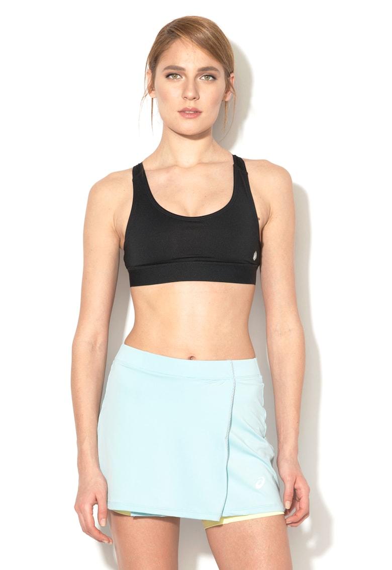 Bustiera cu spate din plasa decupat - pentru fitness