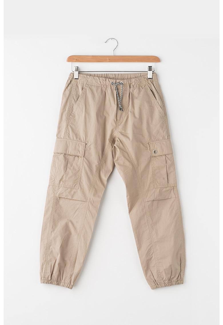 Pantaloni cargo cu mansete elastice Paidi