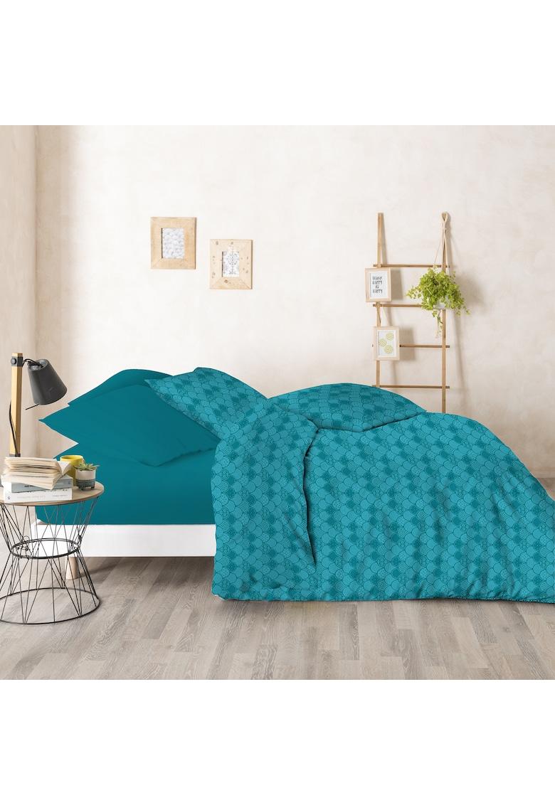 Lenjerie de pat - 6 piese - Harmony - pentru 2 persoane - 144 TC - bumbac 100% imagine fashiondays.ro