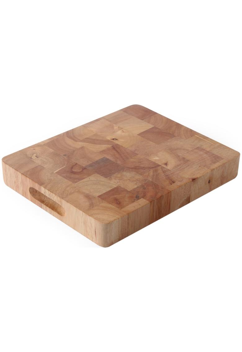 Tocator lemn de cauciuc - GN 1/2 - 26 -5x32 -5x4 -5 cm imagine fashiondays.ro